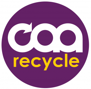 Recycle award logo